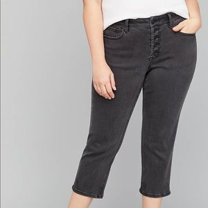 Lane Bryant HighRise Straight Crop Jean NWT Size14
